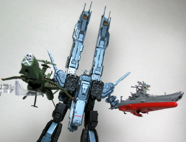 The Arcadia replaces Daedalus, the Yamato replaces the Prometheus