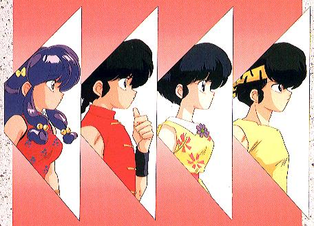 Ranma showed me the promised land of absurdity (and I was reading Beckett at the time too)