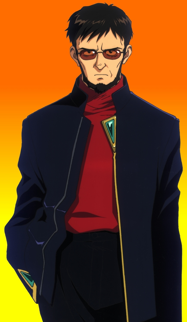 Someone Shows A Bit Of Character Ikari Gendo Of Neon