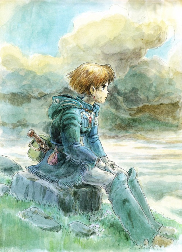 Nausicaa is sad because I dont post often enough