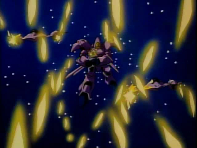 Macross 7 LOL SQUADRON FORMATION