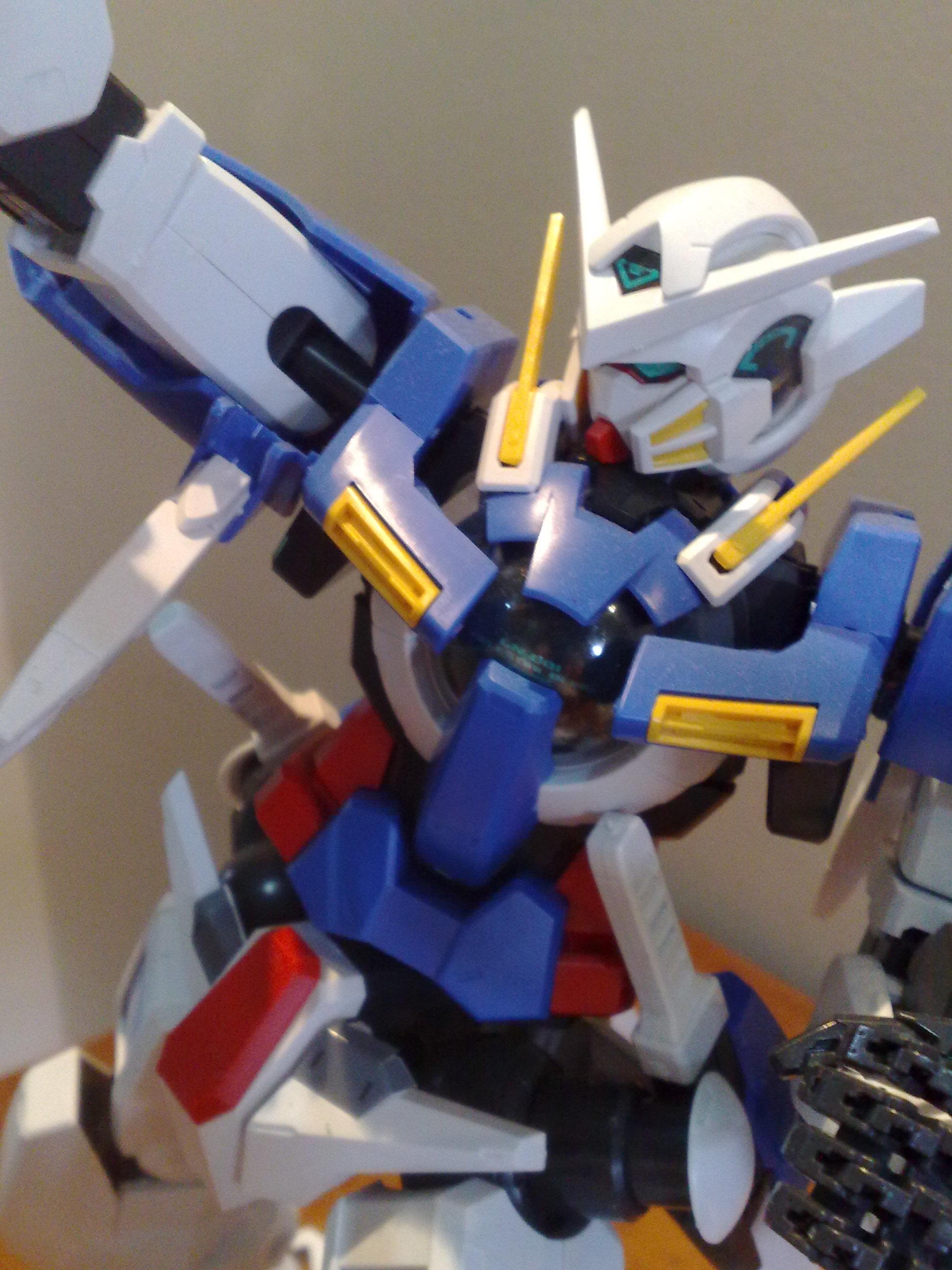 gn 001 exia gundam 1/60 scale model