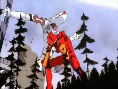 Rideback And Peak Synchronization End Of Evangelion Minus The Tang We Remember Love