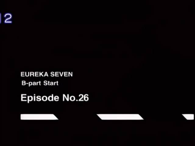 eureka 7 26 B-part start