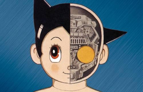 tetsuwan atom cross section head