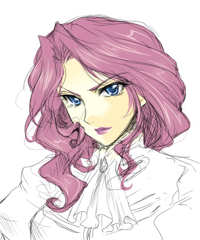 code geasss cornelia li britannia sketch in color
