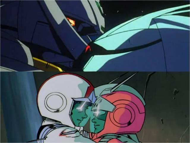 gundam 0079 turn a vs turn x kissu amuro vs char kissu