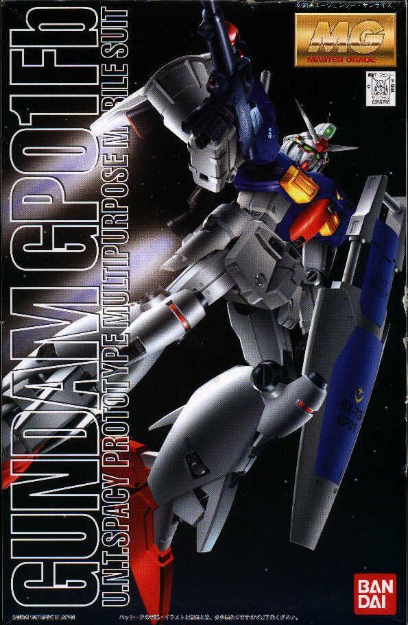 gundam gunpla master grade rx-78-gpo1 fb