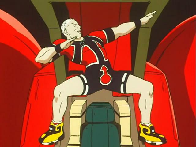 gundam turn a corin nander hulk hogan pose
