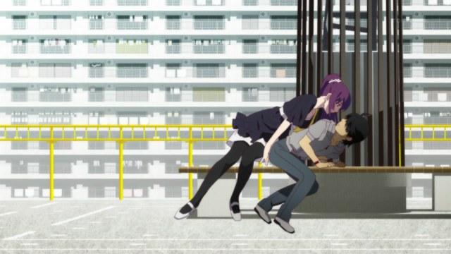 bakemonogatari 03 senjougahara araragi sexual dominance