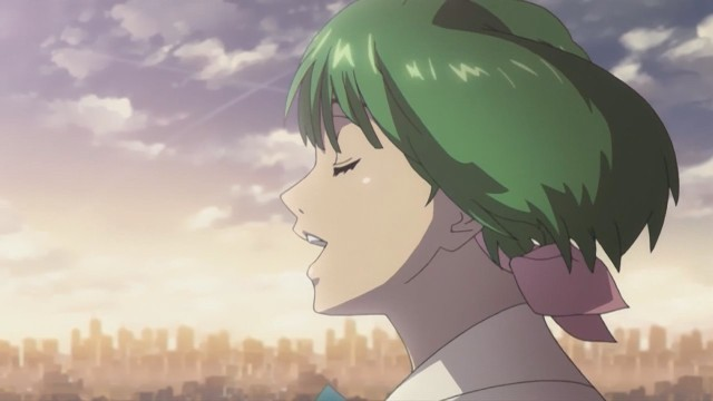 Macross Frontier - 03 - Ranka singing Aimo