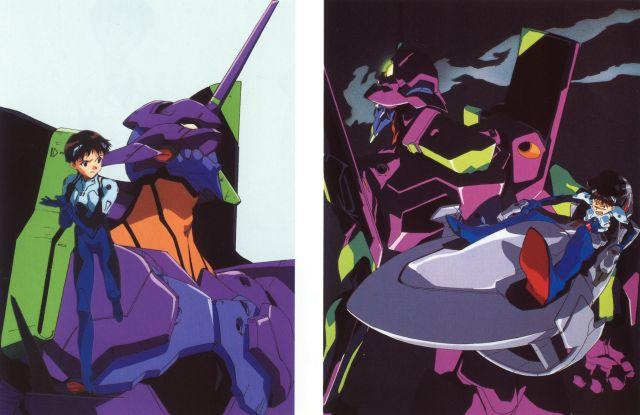 neon genesis evangelion eva unit 01 ikari shinji