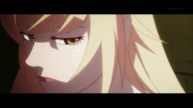 bakemonogatari 01 shinobu before she was shinobu