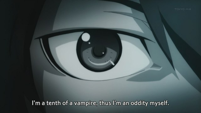 bakemonogatari 10 araragi is a tenth of a vampire