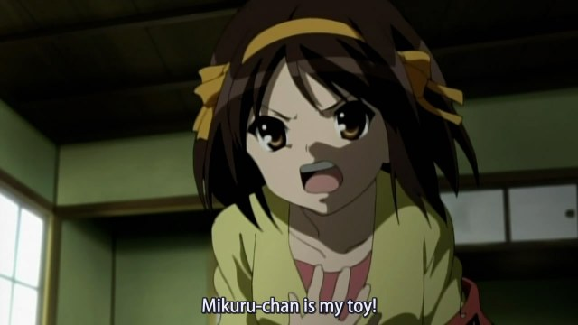 haruhi s2 13 ownage of toy