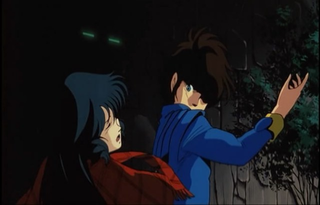 macross do you remember love minmay hikaru slap 3
