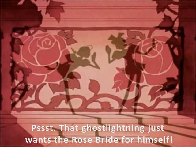 utena shadow puppets ghostlightning wants the rose bride for himself