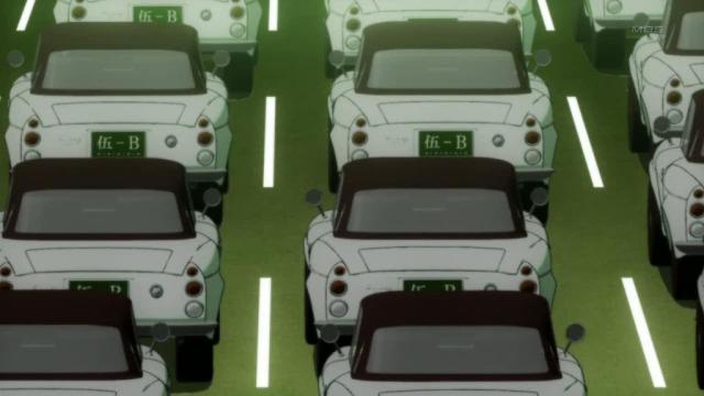 bakemonogatari cars