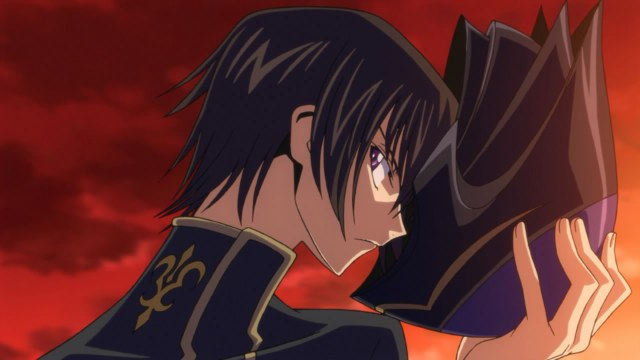 code geass r1 op 01 lelouch zero mask removed