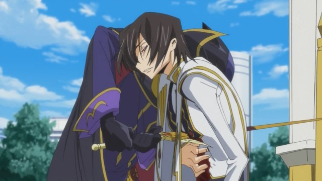 code geass r2 25 zero lelouch zero requiem close up