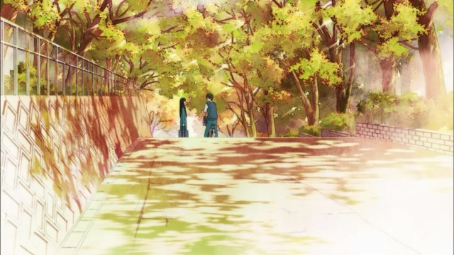 kimi ni todoke 02 kazehaya sawako after school under the trees