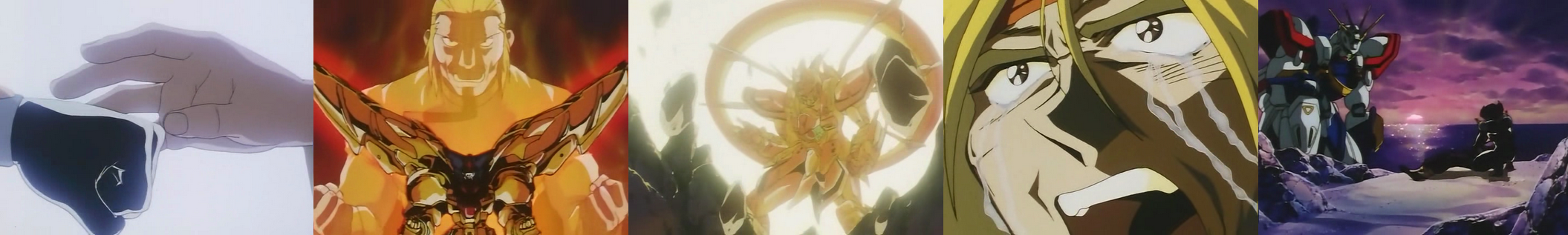 My gundam is better than your gundam dkj s top 10 gundam for Domon vs master asia