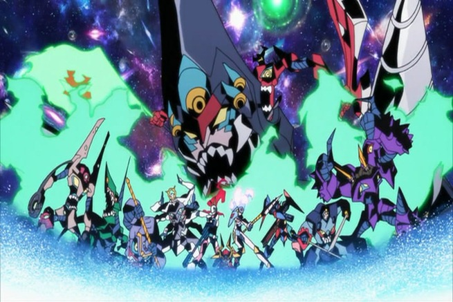 tengen toppa gurren lagann movie dai gurren dan ultimate gunmen team