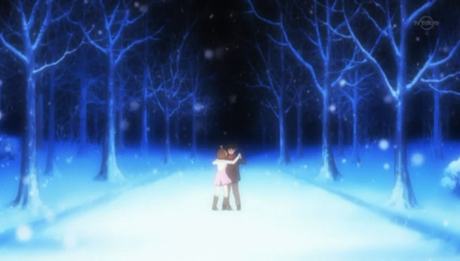 hanamaru kindergarten 12 anzu tsuchi waltz in the snow