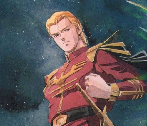 gundam char's counterattack char aznable
