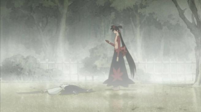 katanagatari 03 shichika kills tsuruga
