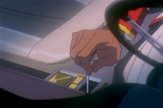 utena 26 akio car intro gearshift