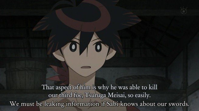 katanagatari 04 shichika's asexuality was key to killing women duelists