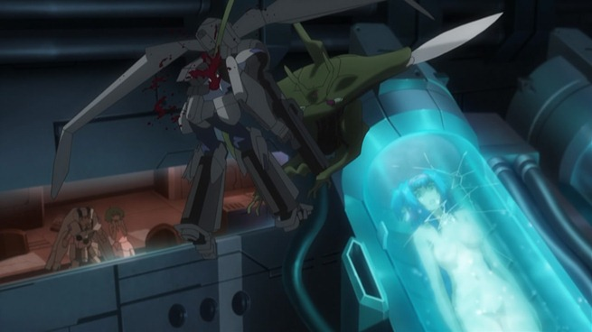 macross frontier 20 death of michel blanc