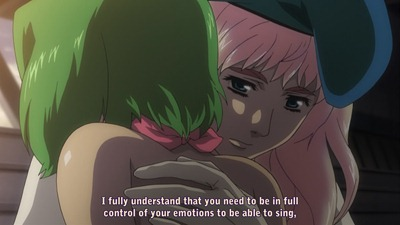 macross frontier 20 ranka sheryl hand of justice is also merciful