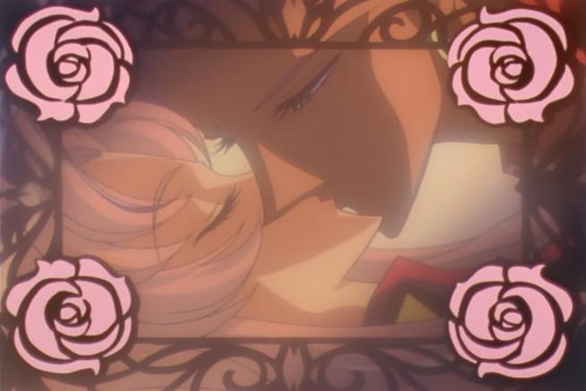 utena 31 akio kiss rose frames