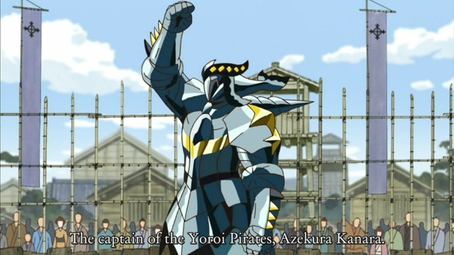 katanagatari 05 azkura kanara yoroi