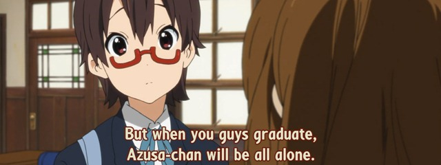 k-on s2 01 nodoka yui azusa will be alone