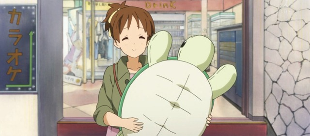 k-on s2 05 ui stuffed turtle