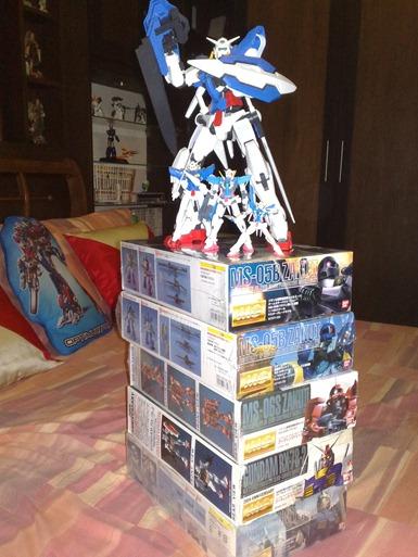 gundam kits figures gn-001 exia