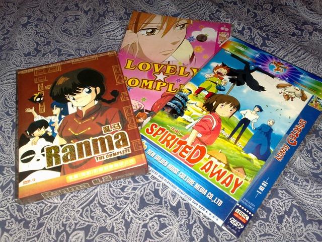 Bootleg anime dvds