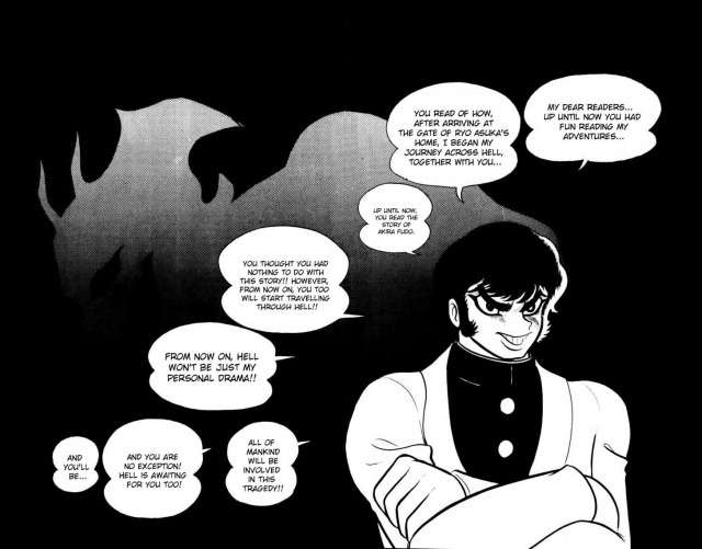 devilman 4th wall