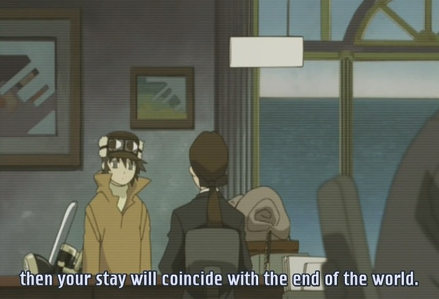 kino no tabi 03 overnight to the end of the world