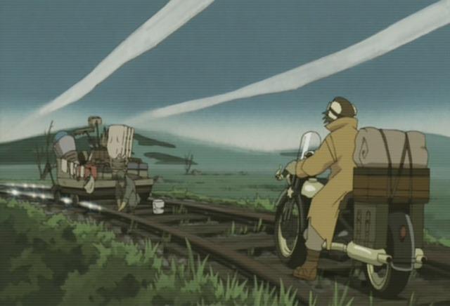 kino no tabi 05 polishing the railroad tracks