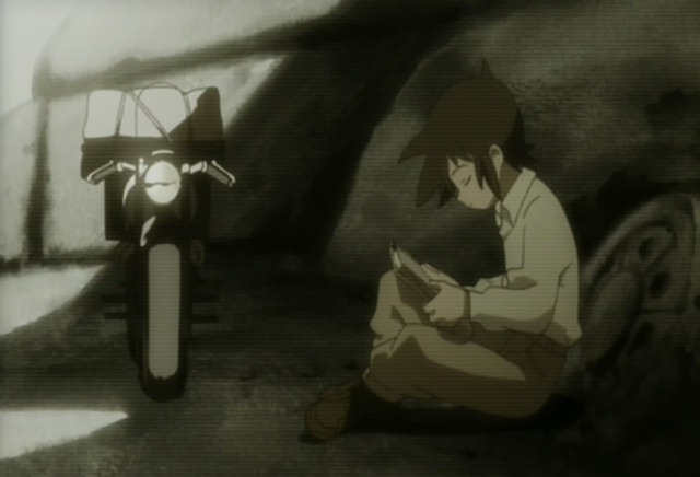 kino no tabi 09 reading a book of everything in the world