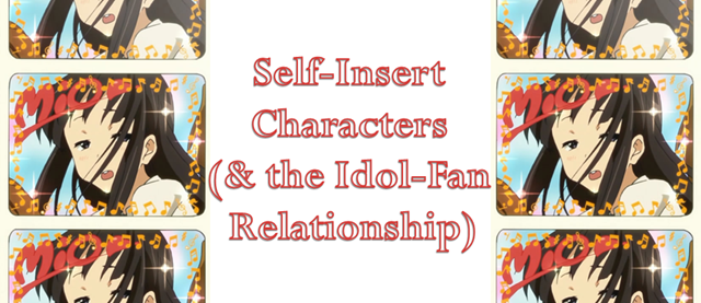 self-insert characters & the idol-fan relationship