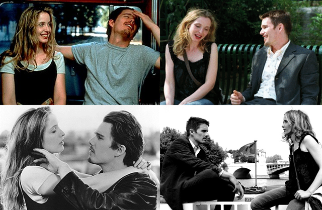 before sunrise before sunset julie delpy ethan hawke