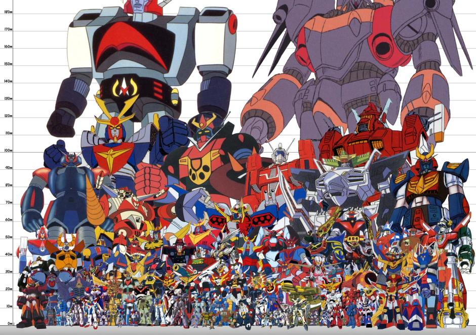super robot size chart abridged