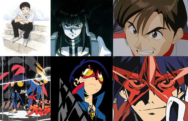 Tradition of the GAINAX protagonist and TTGL -- Ikari Shinji to Takaya Noriko to Kubo Kenji; Simon remembers love