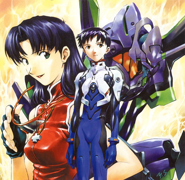 Neon Genesis Evangelion Unit 01 Ikari Shinji Misato Katsuragi