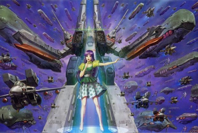 super dimension fortress macross sdf-1 lynn minmay